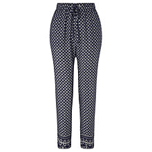 Buy Minimum Ninel Trousers, Navy Online at johnlewis.com