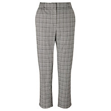 Buy Minimum Valette Prince of Wales Trousers, Grey/Black Online at johnlewis.com
