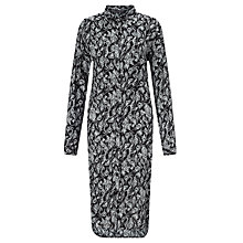 Buy Minimum Sisie Shirt Dress, Black Online at johnlewis.com