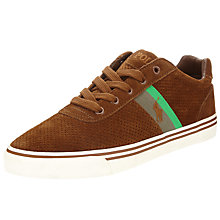 Buy Polo Ralph Lauren Hanford Lace-Up Shoes, New Snuff Online at johnlewis.com
