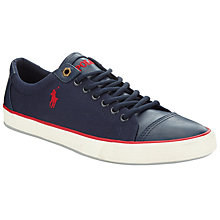 Buy Polo Ralph Lauren Kling Lace-Up Shoes, Newport Navy Online at johnlewis.com