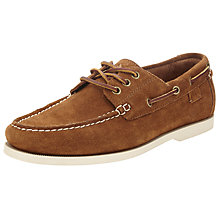 Buy Polo Ralph Lauren Bienne Boat Shoes, New Snuff Online at johnlewis.com