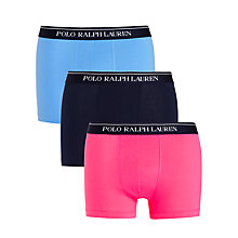 Buy Polo Ralph Lauren Trunks, Pack of 3 Online at johnlewis.com