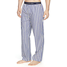 Buy Polo Ralph Lauren Flynn Stripe Lounge Pants, Navy/White Online at johnlewis.com