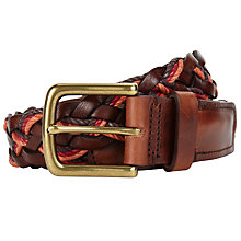 Buy JOHN LEWIS & Co. Weave Belt Online at johnlewis.com