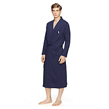 Buy Polo Ralph Lauren Polo Kimono Robe, Navy Online at johnlewis.com