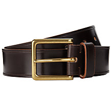 Buy JOHN LEWIS & Co. Bridle Leather Belt Online at johnlewis.com