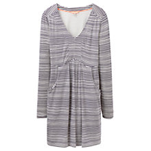 Buy Joules Lizzie Jersey Tunic Top, Navy Wave Stripe Online at johnlewis.com