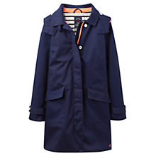 Buy Joules Right as Rain Seaford Waterproof Mac, French Navy Online at johnlewis.com