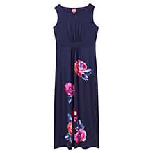 Buy Joules Tansy Floral Print Maxi Dress, Navy Rose Online at johnlewis.com
