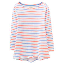 Buy Joules Harbour Stripe Jersey Top, Summer Stripe Online at johnlewis.com