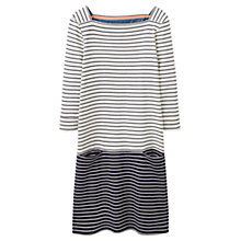 Buy Joules Pier Stripe Jersey Pocket Dress, Navy Stripe Online at johnlewis.com