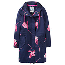 Buy Joules Right as Rain Raina Waterproof Parka, French Navy Tulip Online at johnlewis.com