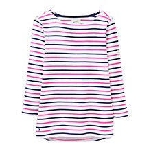 Buy Joules Harbour Stripe Jersey Top, Queen Stripe Online at johnlewis.com