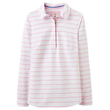 Buy Joules Clovelly Pop Over Shirt, Pink Sherbet Stripe Online at johnlewis.com