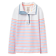 Buy Joules Cowdray Stripe Sweatshirt, Summer Stripe Online at johnlewis.com