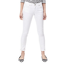 Buy Joules Loren Skinny Jeans, Bright White Online at johnlewis.com