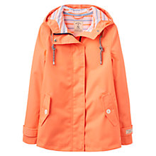 Buy Joules Right as Rain Coast Waterproof Jacket, Flouro Orange Online at johnlewis.com