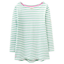 Buy Joules Harbour Stripe Jersey Top, Spring Green Stripe Online at johnlewis.com