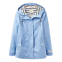 Buy Joules Right as Rain Coast Waterproof Jacket, Haze Blue Online at johnlewis.com