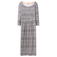 Buy Joules Melissa Stripe Jersey Dress, Navy Wave Stripe Online at johnlewis.com