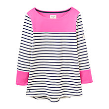 Buy Joules Harbour Colour Block Stripe Jersey Top Online at johnlewis.com