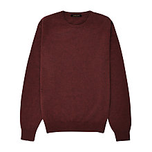 Buy Jaeger Cashmere Crew Neck Jumper, Shiraz Online at johnlewis.com