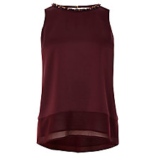 Buy Coast Analisa Top, Merlot Online at johnlewis.com