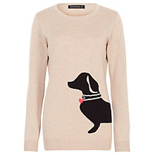 Buy Sugarhill Boutique Nita Sausaage Dog Jumper, Cream Online at johnlewis.com