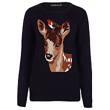 Buy Sugarhill Boutique Nita Robin And Deer Jumper, Navy Online at johnlewis.com