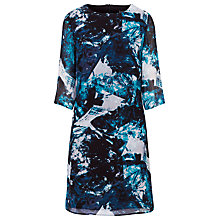 Buy Sugarhill Boutique Amelia Ice Print Tunic Dress, Teal Online at johnlewis.com