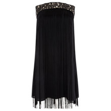 Buy Studio 8 Fiamma Fringe Dress, Black Online at johnlewis.com