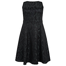 Buy Studio 8 Jacquard Adeline Dress, Green/Black Online at johnlewis.com