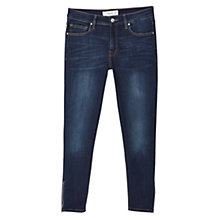 Buy Mango Slim Fit Tattoo Jeans, Open Blue Online at johnlewis.com