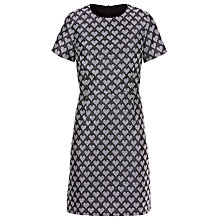 Buy Sugarhill Boutique Betsy Jacquard Shift Dress, Grey Online at johnlewis.com