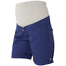 Buy Mamalicious Andrea Maternity Shorts, Twilight Online at johnlewis.com