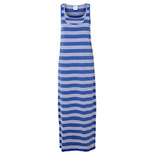 Buy Mamalicious Tribbi Nell Nursing Maxi Dress, Blue/White Online at johnlewis.com
