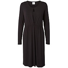 Buy Mamalicious Buca Maternity Nursing Dress, Black Online at johnlewis.com