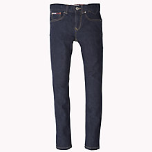 Buy Tommy Hilfiger Boys' Scanton Slim Fit Jeans, Raw Blue Online at johnlewis.com