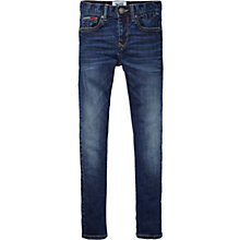 Buy Tommy Hilfiger Boys' Scanton Slim Fit Jeans, Indigo Online at johnlewis.com