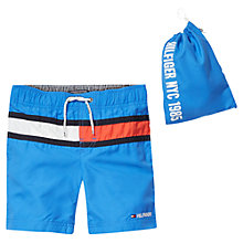 Buy Tommy Hilfiger Boys' Flag Swim Shorts Online at johnlewis.com