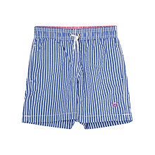 Buy Hackett London Boys' Stripe Swim Shorts, Blue Online at johnlewis.com