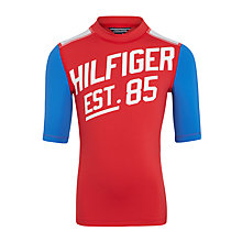 Buy Tommy Hilfiger Boys' Swim Top, Red Online at johnlewis.com