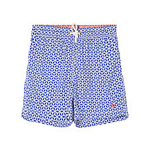 Buy Hackett London Boys' Star Tile Swim Shorts, Blue Online at johnlewis.com