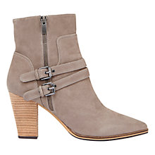 Buy Mint Velvet Roxie Ankle Boots, Taupe Nubuck Online at johnlewis.com