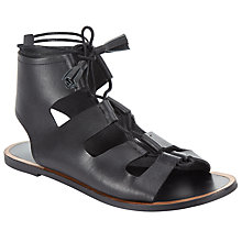 Buy Collection WEEKEND by John Lewis Lannion Gladiator Sandals, Black Online at johnlewis.com