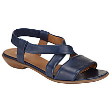 Buy John Lewis Lola Cross Strap Sandals Online at johnlewis.com