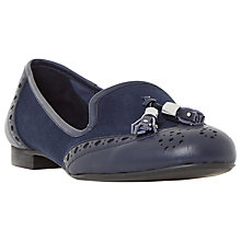 Buy Dune Loki Flat Tassel Loafers Online at johnlewis.com