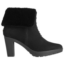 Buy L.K. Bennett Maggie Block Heeled Lace Up Ankle Boot, Black Suede Online at johnlewis.com