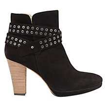 Buy Mint Velvet Jenna Block Heeled Ankle Boots Online at johnlewis.com